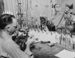 Creating laboratory glassware, 1955