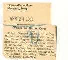 Women in Marine Corps