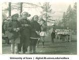 Children at nursery school, Siberia, 1944