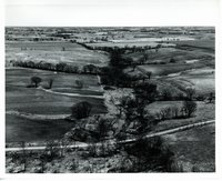 E-11 structure site before built, 1964
