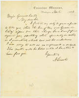 29. Lincoln to Gen. Samuel R. Curtis on cotton speculation charge