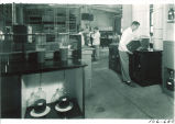 Manufacturing lab of pharmacy, The University of Iowa, October 19, 1949