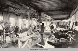 Working in a Machine Shop, 1896; Oskaloosa, Mahaska County, Iowa