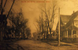 North 3rd Street in Oskaloosa, Iowa, Circa 1910