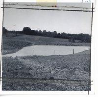 Justin Hingtgen farm pond, 1963