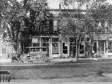 Lacey Hotel and Street House, Oskaloosa, 1898; Mahaska County, Iowa