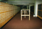 Card catalog on second floor, 1994