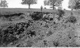 Iron mine, Waukon, Iowa, late 1890s or early 1900s