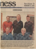 Warren County Commissioners - 2003.