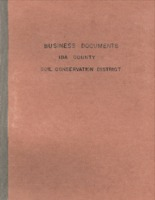 Ida County Soil Conservation Business Documents