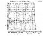 Iowa land survey map of t072n, r033w