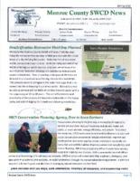 Miller Creek SWCD newsletter, 2015
