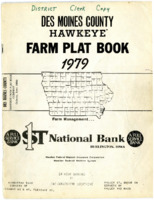 1979 - Des Moines County Hawkey Farm Plat Book