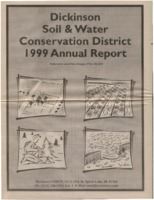 Dickinson County Soil Conservation District Annual Report - 1999.