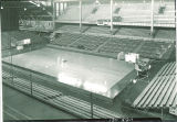 Basketball court in the Field House, the University of Iowa, 1930s?