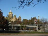 032_ View of the Capitol and Soldiers' monument which may be seen from all railway trains going in easterly direction