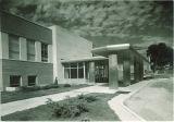 South entrance to Iowa Memorial Union, the University of Iowa, 1950s