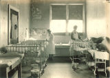 Children's Hospital pediatric ward, The University of Iowa, 1923