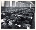 Students studying in the Periodical Room (Main Reading Room), 1944