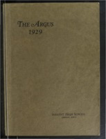 1929 Ankeny High School Yearbook