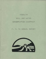 1991 Kossuth County Soil and Water Conservation District Annual Report