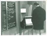 Photography in the Iowa Memorial Union, the University of Iowa, 1950s?