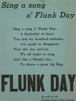 Sing a song o' Flunk Day
