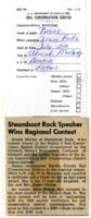 Steamboat Rock speaker wins regional contest.