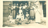 Summer library school class, The University of Iowa, 1913