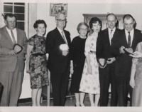 Awards Ceremony for the Warren County Soil and Water Conservation - 1963.