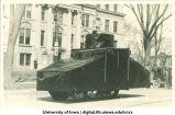 Engineers' parade, The University of Iowa, 1917