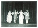 School children performing minuet, The University of Iowa, March 10, 1950
