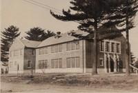 St. Joseph's Catholic Church hall in Garnavillo, Iowa -Church Hall and School