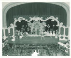 Dress rehearsal of unidentified opera in Macbride Auditorium, The University of Iowa, July 1950
