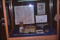 Fifty Years of Conservation in Cherokee County display case at the Sanford Museum.