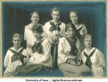 1919 softball team, The University of Iowa, 1919