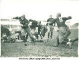Iowa football game, The University of Iowa, 1919-1921?