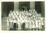 All-State students and faculty, The University of Iowa, 1930