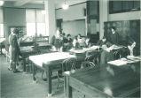 Home economics class, The University of Iowa, 1920s
