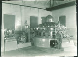 Generator in the Hydroelectric Plant, the University of Iowa, 1920s?