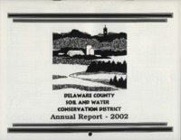 Delaware County Soil Conservation District Calendar & Annual Report - 2002