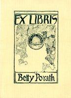 Betty Porath Bookplate