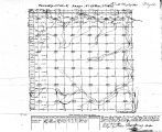 Iowa land survey map of t069n, r021w