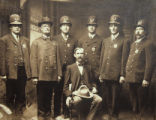 Oskaloosa City Police, 1900; Mahaska County, Iowa