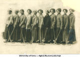 Field hockey team, The University of Iowa, 1910s