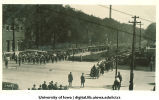 Parade for Induction ceremonies, The University of Iowa, 1920s