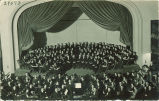 University orchestra in Macbride Hall, The University of Iowa, 1920s