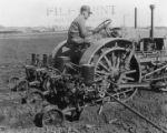 Four-row corn planter, 1931