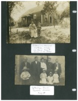 Two photos of the Kaput family, no date