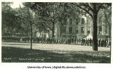 Induction ceremony procession, The University of Iowa, October 1, 1924